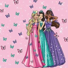 Anything is Possible with Barbie Barbie Painting, Barbie Drawing, Barbie Birthday Party, Barbie Party, Barbie Paper Dolls, Barbie Skipper, Barbie Life, Barbie World, Barbie Quotes