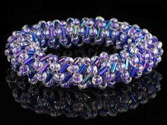 SoftFlexGirl: Free Step-by-Step Instructions for Bead Weaving with Beading Wire