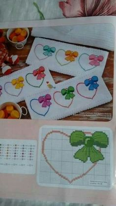 This Pin was discovered by Şey Cross Stitch Bookmarks, Cross Stitch Pictures, Cross Stitch Heart, Cross Stitch Cards, Cross Stitch Borders, Cross Stitch Flowers, Cross Stitch Designs, Cross Stitching, Cross Stitch Embroidery