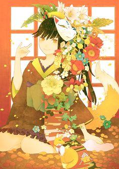 Kimono Girl by conronca.deviantart.com