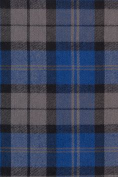 Blue and Grey Plaid Flannel | Indiesew.com