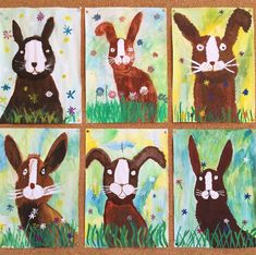 Easter rabbit come along Easter rabbit come along The post Easter rabbit come along appeared first on Knutselen ideeën. Spring Art Projects, Easter Projects, Drawing For Kids, Art For Kids, Arte Elemental, First Grade Art, Kindergarten Art Projects, Ecole Art, Rabbit Art