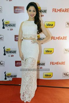 Tamannaah Bhatia during the 61st Idea Filmfare Awards South, held at Jawaharlal Nehru Stadium in Chennai, on July 12, 2014.