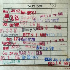 A History of Reading #libraryephemera