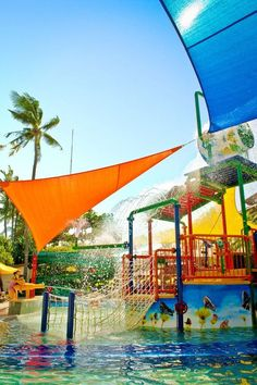 Fun zone: The pool right beside the kids' club at Bali Dynasty hotel has all that fun features just like a great water...