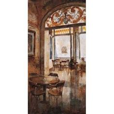 Grand Cafe Cappuccino I Canvas Art - Noemi Martin (10 x 20)