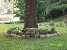 like the stone bench | Ideas for