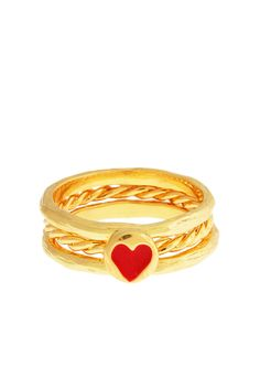 love knot stacklable rings by erica anenberg.