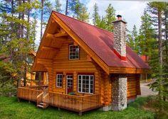 Photo: Alpine Village Log Cabins  See more here ->http://www.goodshomedesign.com/alpine-village-log-cabins/