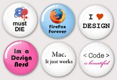Cute vector badges!