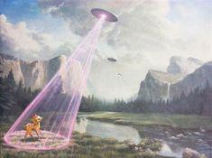 Une sélection des peintures à l'huile pop et surréalistes de l'artiste américain Mark Bryan. Un univers décalé bourré de références, de Edvard Munch à Hello Kitty en passant par La Joconde, Bambi ou encore Budha, Jesus et des catcheurs mexicains…