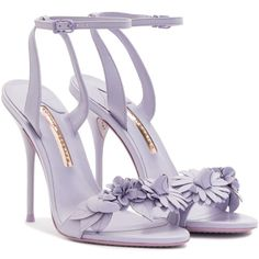 Shared by Carla Fancy Shoes, Purple Shoes, Pretty Shoes, Crazy Shoes, Beautiful Shoes, Cute Shoes, Lavender Shoes, Embellished Heeled Sandals, Dr Shoes