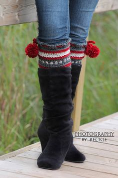 Dylan Leg Toppers Boot Cuffs/Leg Warmers Crochet by BySincerelyPam, $5.00
