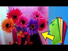How to make beautiful flower 🌹 with waste shopping bag 💜 very easy. Rangoli Borders, Rangoli Border Designs, Plastic Bottle Flowers, Plastic Bottles, Diy Flowers, Paper Flowers, Shoping Bag, Plastic Bag Crafts, How To Make Rose