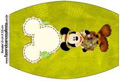 Rótulo Esmalte Mickey Safari
