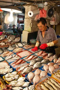 Donggang Fish Market, Pingtung County, Taiwan