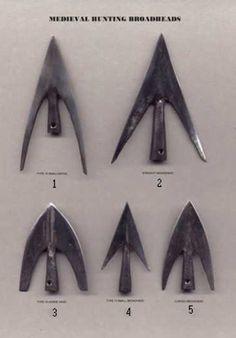 Richard Head Longbows - Hector Cole Arrow Heads