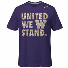 Nike Washington Huskies vs. UConn Huskies 2K Sports Classic T-Shirt - Purple