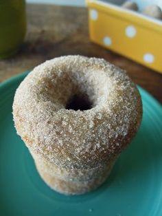 Baked Cake Donut Recipe