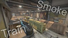 CS:GO - Train - A Between Red and Green Train [f0rest] Smoke by XaNNy0