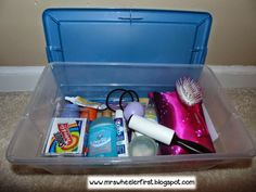 Keeping a Teacher Emergency Kit