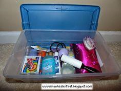 Mrs. Wheeler's First Grade Tidbits: Emergency Teacher Kit: A Bright Idea