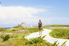 Photo shooting at Isla Mujeres フォトセッション イスラムヘーレス AkiDemi Photography www.akidemi.com