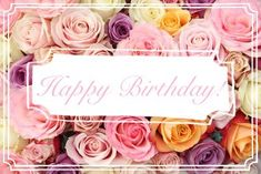 happy birthday, pastel, and colors image Birthday Congratulations, Happy Birthday Quotes, Happy Birthday Images, Birthday Love, Birthday Pictures, Happy Birthday Wishes, Birthday Memes, Birthday Board, Birthday Wishes Flowers