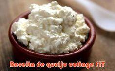 Receita FIT de queijo cottage caseiro #queijo #receitas #cottage