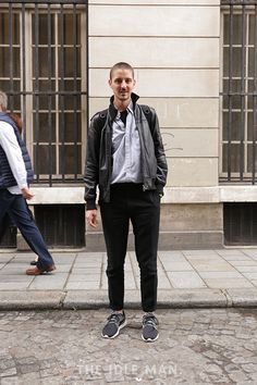 Men's Street Style - Shades of grey