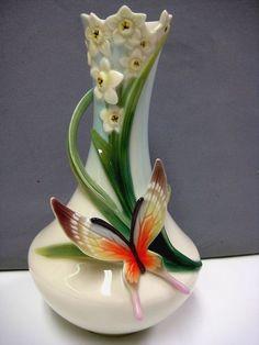 Franz vase - butterfly vase