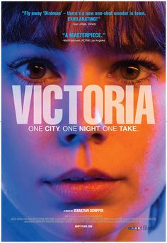 Victoria l 8.5 Inventive independent cinema. Taking on some already explored genres and pushing those boundaries even further. This film is a fascinating watch, a tense taut experience even without its central gimmick but elevated because of it