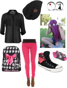 """valentines day fun with friends :P"" by unicornzombiesatemarissa ❤ liked on Polyvore"