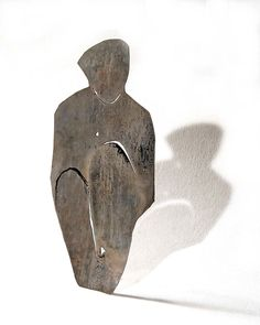 """Poly Nikolopoulou: """"silence""""/ brooch / silver"""