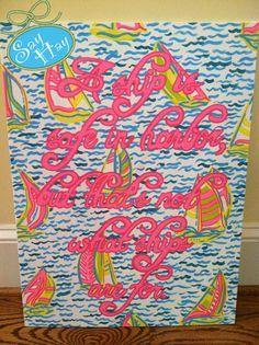 liliy canvas