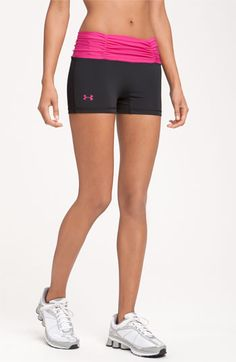 under armour spandex great for volleyball! just not in pink please