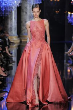 Elie Saab Autunno-Inverno 2014-2015 - Alta moda - http://it.flip-zone.com/fashion/couture-1/fashion-houses/elie-saab-4809 - ©PixelFormula