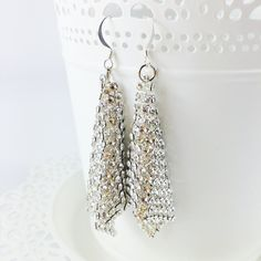 Fazzoletto handmade earrings