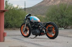 Harley Sportster_gulf_03 nice colors very clean build