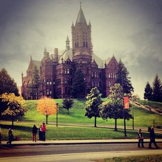 Crouse College at Syracuse University Photo by @hanhan417