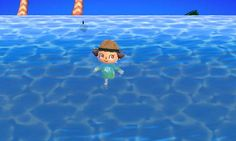 Animal Crossing: New Leaf Diary, Day 8: Swimming with sharks!