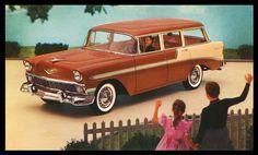 1956 Chevrolet Beauville   Sheaff : ephemera