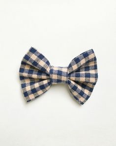 Adorable bow offered as hair bow or bow tie from Avery And Abel!