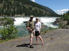 Falls on Kootenay River.