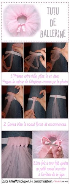 DIY No Sewing Tutu                                                       …