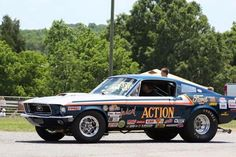 Donnie Moore * 68 Ford Mustang, Mustangs, Drag Racing, Passion, Cars, Vintage, Autos, Car, Vintage Comics