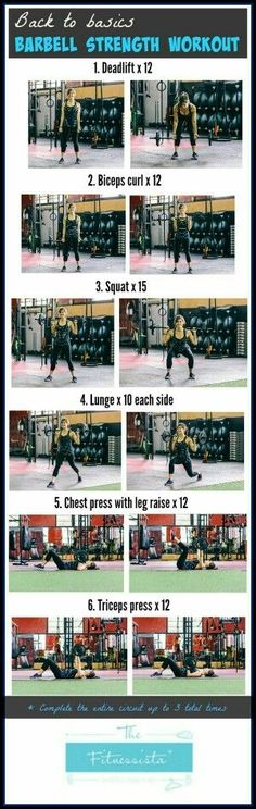 Barbell  Workout | Posted By: NewHowtoLoseBellyFat.com