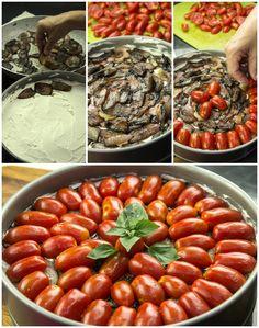 Cheesecake, Vegetables, Food, Cheesecakes, Essen, Vegetable Recipes, Meals, Yemek, Cherry Cheesecake Shooters