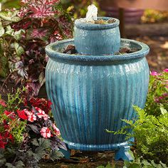 Fill your outdoor living area with the soothing sounds of a trickling fountain. Let the serenity begin with these simple, small projects.