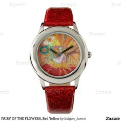 FAIRY OF THE FLOWERS, Red Yellow Watch
